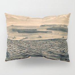 Map Of San Diego 1876 Pillow Sham
