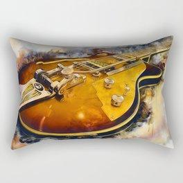 Electric Guitar Rectangular Pillow