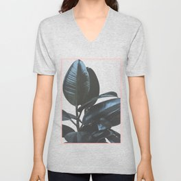 Botanical Art V4 #society6 #decor #lifestyle Unisex V-Neck