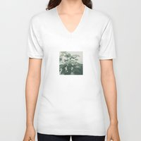 plant V-neck T-shirts featuring Plant by LAUNCH