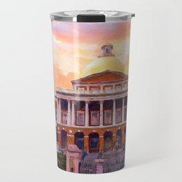 Massachusetts State House #painting #painterly #architecture Travel Mug