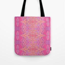 Mad pink marble 1 Tote Bag