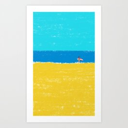 beach-2 Art Print