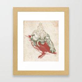Rise of the Dominators Framed Art Print