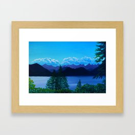 Sea to Sky Vancouver BC Framed Art Print