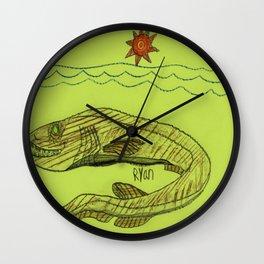 Frilled Shark Wall Clock