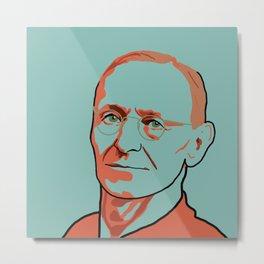Hermann Hesse Metal Print