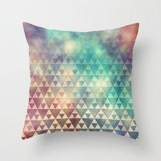 Tribal Fade Throw Pillow