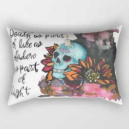 Death is part of Life Rectangular Pillow