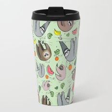 Sloth Party Travel Mug