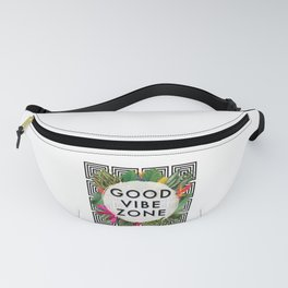 (((( Good Vibes )))) Fanny Pack