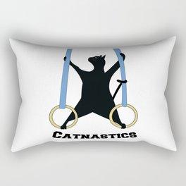 Catnastics Rings Rectangular Pillow