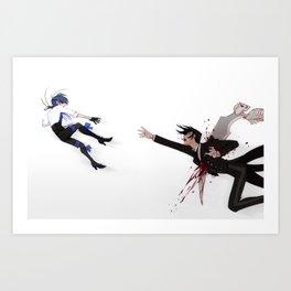 A brief moment Art Print