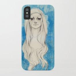 Long Hair iPhone Case
