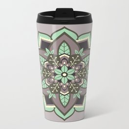 Elven Mandala Metal Travel Mug