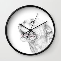 Murphy :: Loyalty [with Quote] Wall Clock