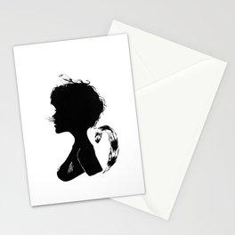 Birdie Silhouette Stationery Cards