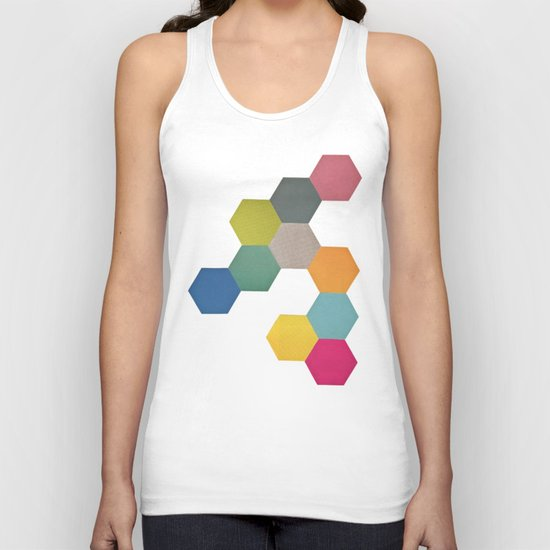 Honeycomb I Unisex Tank Top