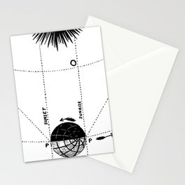 Orbit of Venus Stationery Cards