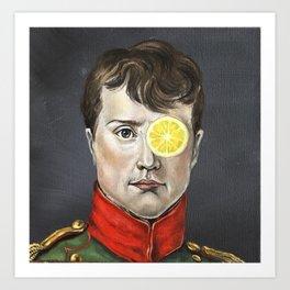 Napoleon Lemonade Art Print