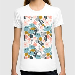 late summer floral T-shirt