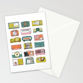 Radios- Collection 1 Stationery Cards
