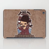 pirate iPad Cases featuring Pirate by Jelot Wisang