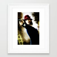 agent carter Framed Art Prints featuring Agent Carter by Ms. Givens