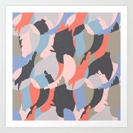 Modern abstract print Art Print