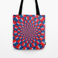 1984 Tote Bags featuring 1984 by Kawal Oberoi