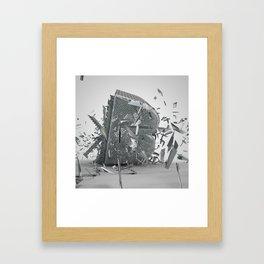 Letter Series: B Framed Art Print