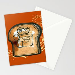 Buttered Toast Suit Stationery Cards