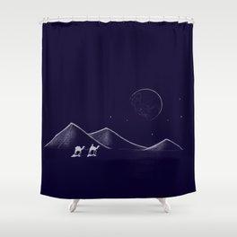 Desert Travels Shower Curtain
