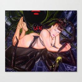 Widow's Web Canvas Print