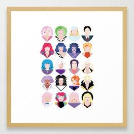 Jem 20 Framed Art Print