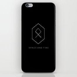 Space and Time iPhone Skin