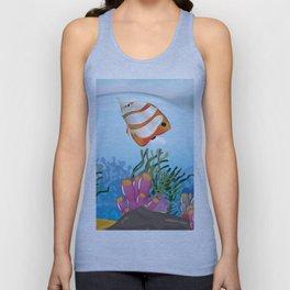 Cartoon Coral Ocean Unisex Tank Top