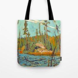 Moose Lake, Algoma, 1920, McMichael Canadian Art J.E.H. MacDonald Tote Bag