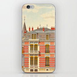 Brick constructions; ordinary brick from a decorative point of view - J. Lacroux and C. Détain - 187 iPhone Skin