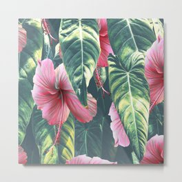 Wild Hibiscus #society6 #decor #buyart Metal Print