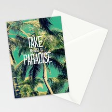 TAKE ME BACK TO PARADISE II  Stationery Cards
