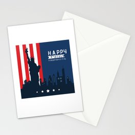 Happy Fourth of July America!  Stationery Cards
