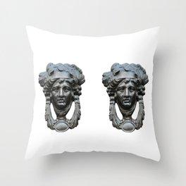 Nice pair of knockers Throw Pillow