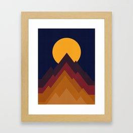 Minimalist Landscape XVII Framed Art Print