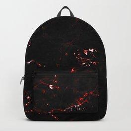 Dark Red Marble Backpack