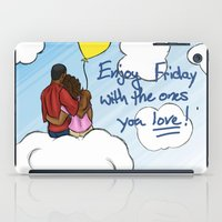 friday iPad Cases featuring FRIDAY by RM2 Designs