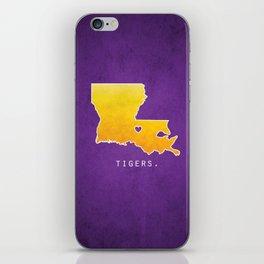 Louisiana State Tigers iPhone Skin