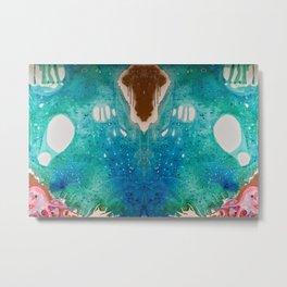 Environmental Series #5 Rare Octopus Marvels at the Ocean Metal Print