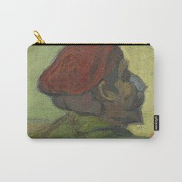 Paul Gauguin (Man in a Red Beret) Carry-All Pouch