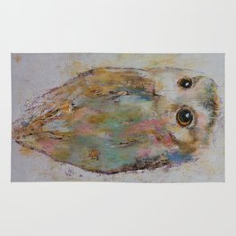 Owl Painting Rug